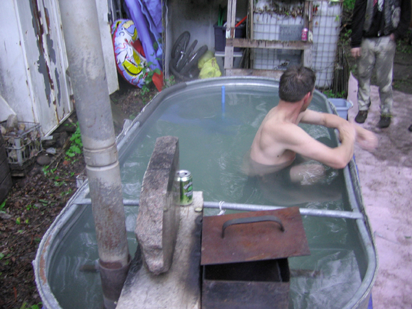 Cattle Trough Bathtub